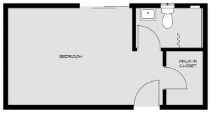 bedroom floorpan 1